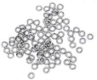 100 Stainless Steel Open Jump Rings 4mm, 5mm , 7mm & 10mm